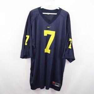 Nike Mens XL Michigan Wolverines Football Jersey